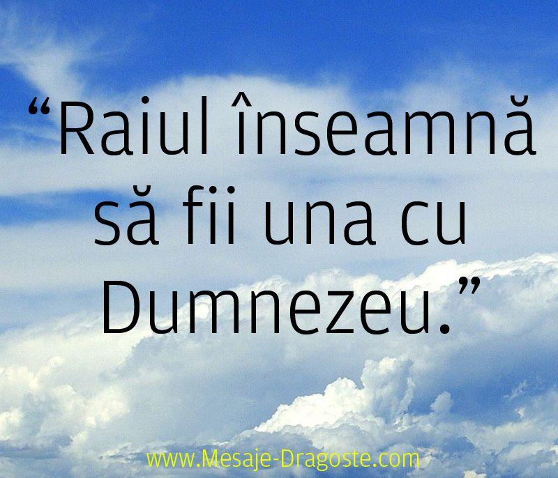 citate dumnezeu rai