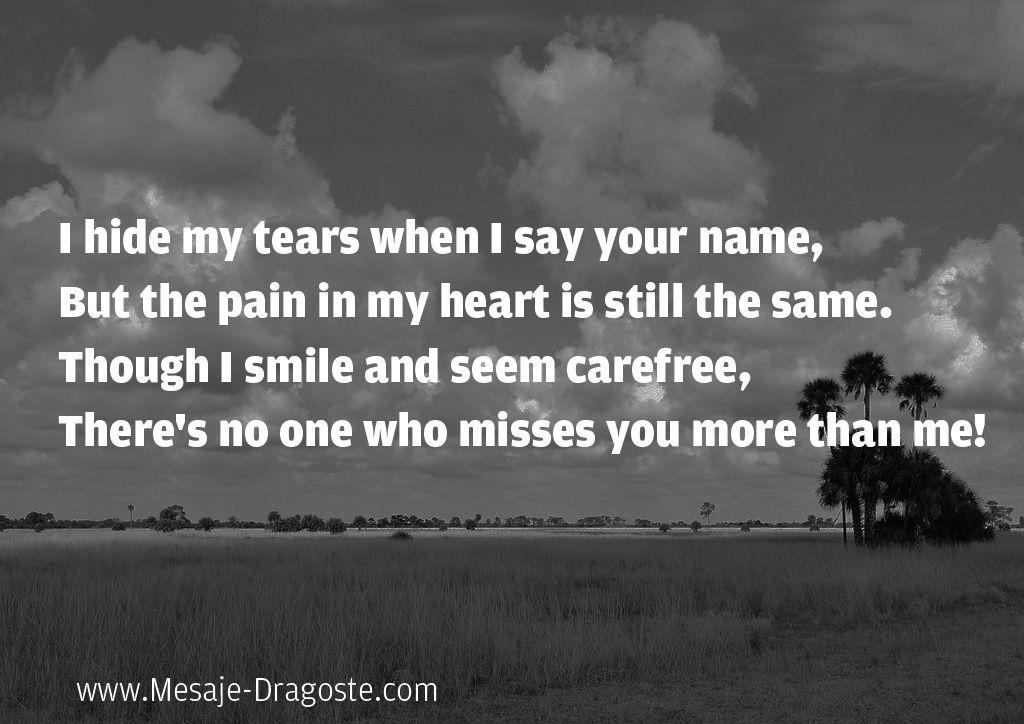 i hide my tears
