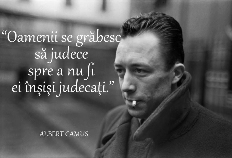 citate celebre Albert Camus
