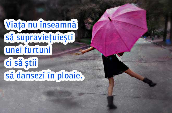 citate celebre despre ploaie Viata nu inseamna sa supravietuiesti unei furtuni citate celebre despre ploaie