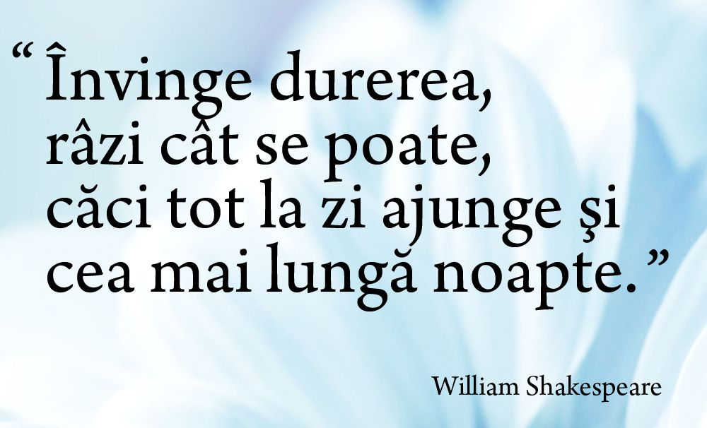Citaten Shakespeare : Invinge durerea citat william shakespeare