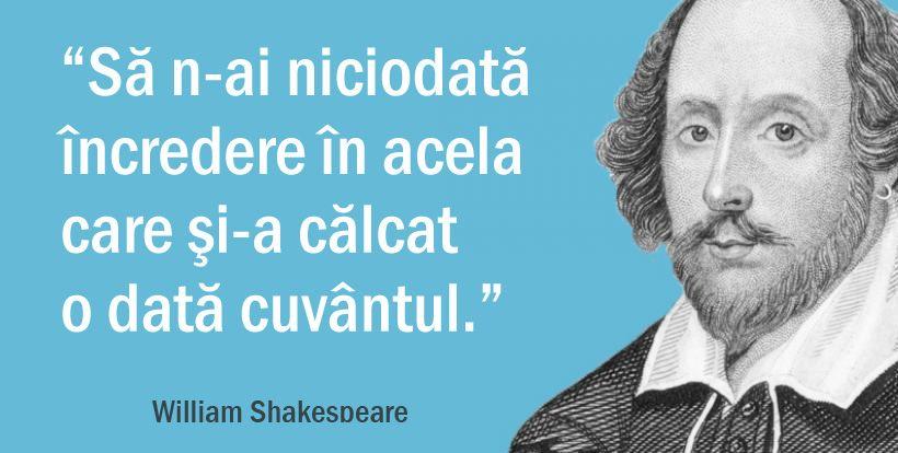 citate despre incredere Citate despre incredere   William Shakespeare citate despre incredere
