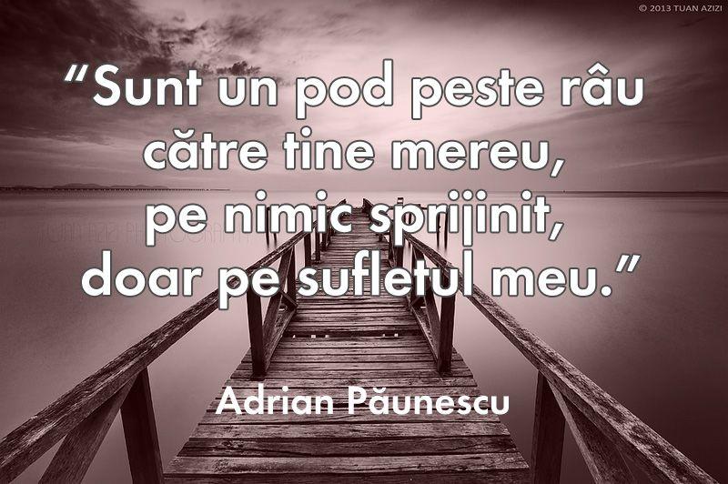 Adrian Paunescu citat despre iubire