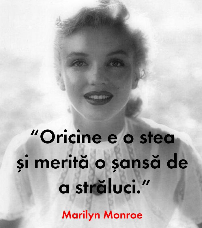 Marilyn Monroe citate