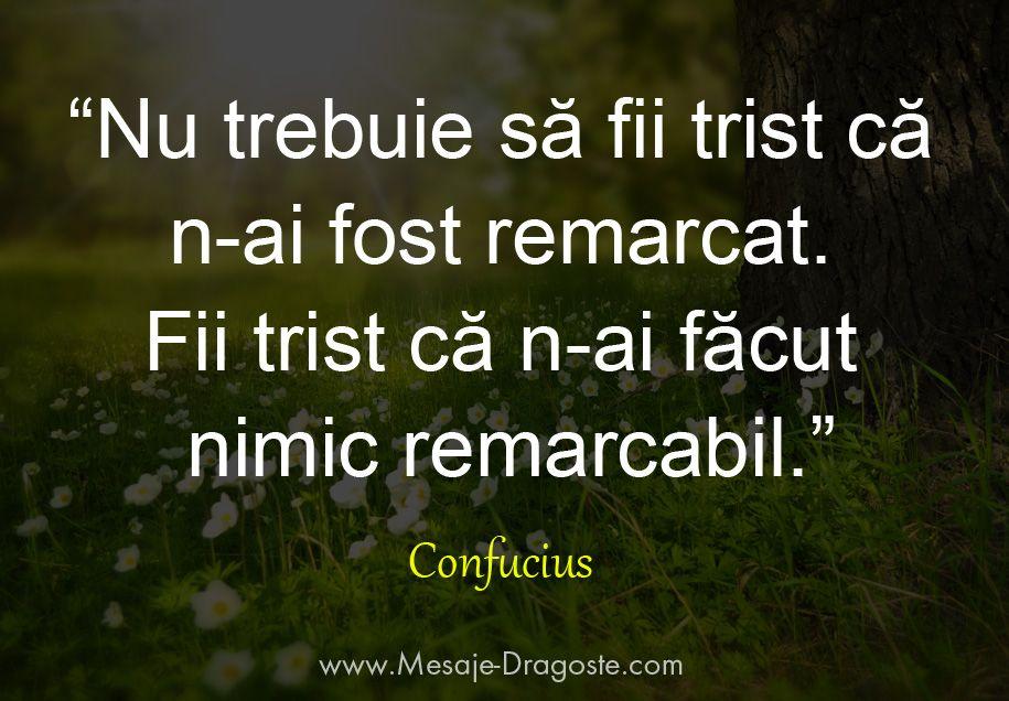 confucius nu fii trist citate