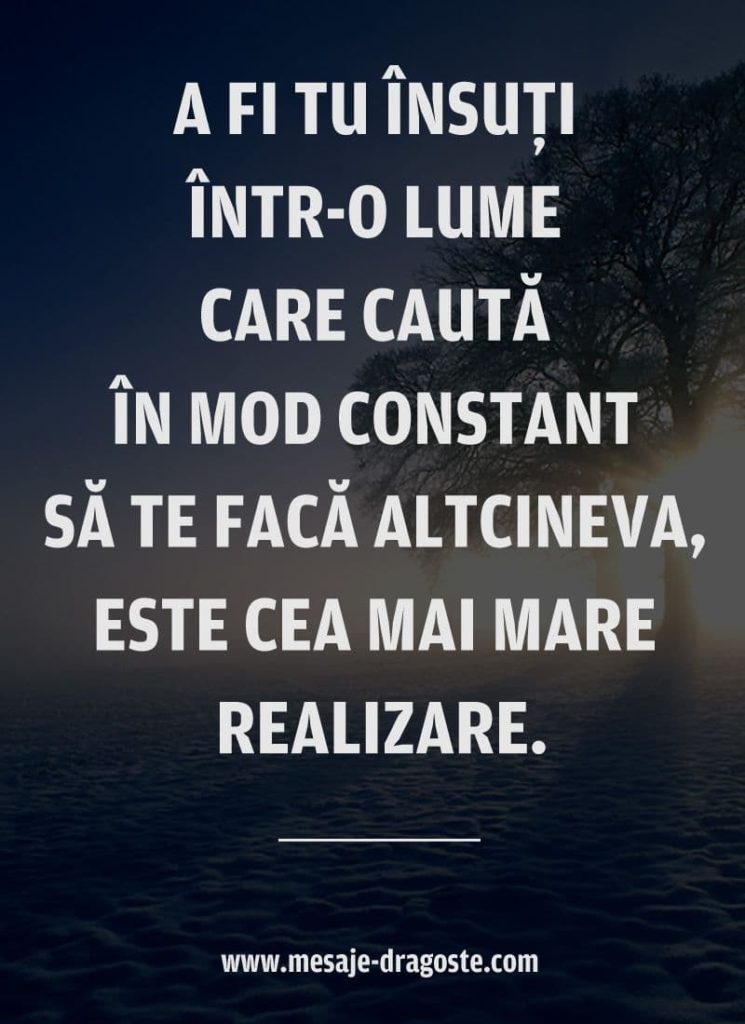 citate motivationale despre a fi tu insuti