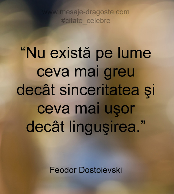 citate lingusire sinceritate