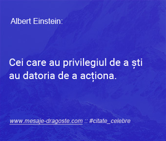 Einstein citate celebre